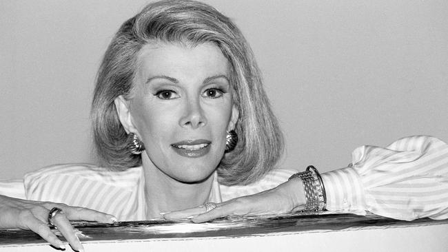Joan Rivers in 1989.
