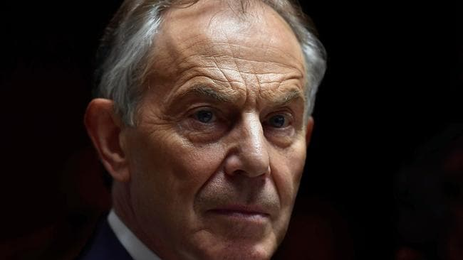 Mr Farage believes a second referendum could silence prominent remainers like former PM Tony Blair. Charles McQuillan/Getty Images