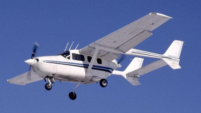 The type of Cessna 337 light plane involved in the incident.
