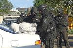 <p>7th April 2009...... Two 22-year-old men, with alleged links to the Rebels OMCG, were arrested at gunpoint by T.O.U. officers during a police operation in the car park of a fast food restaurant at St Peters. Police have raided eight properties in Sydney and on the state¿s south coast, arresting six people and smashing an alleged drug distribution network, linked to two Outlaw Motorcycle Gangs. For four months, detectives from the Central Metropolitan Region Enforcement Squad, based at Surry Hills, have been investigating the sale of amphetamines (speed) and cocaine.</p>