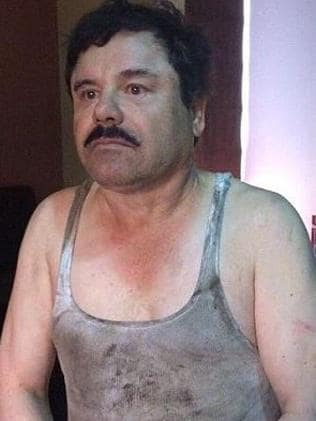 Vanity ... Joaquin 'El Chapo' Guzman Loera wanted to see a movie made about his life. Picture: Supplied