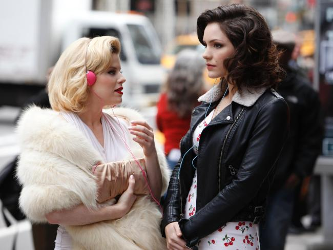 Katharine McPhee, right, in a scene from TV series, Smash. Photo: NBC