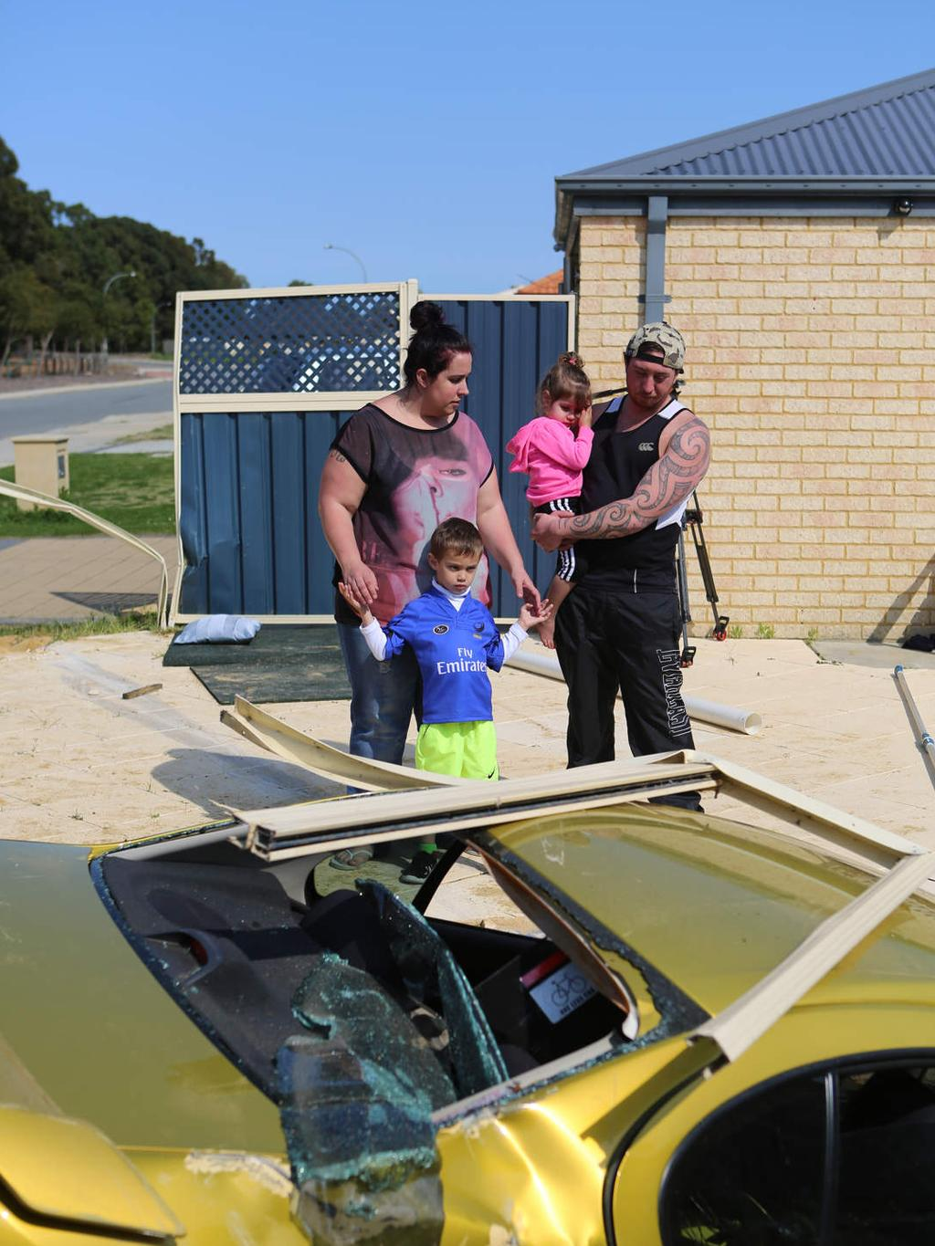 Allegedly stolen car lands in swimming pool in seville - Swimming pool seville ...