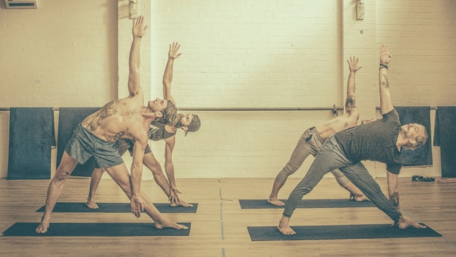 Photo: THE BOYS OF YOGA