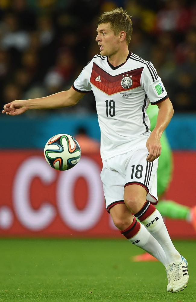 Kroos control: The Germany midfielder wants Real Madrid move.
