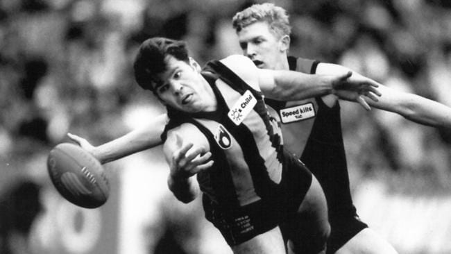 Jason Dunstall was made a legend of the Hawthorn Football Club.