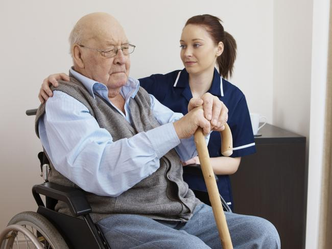 Uncertain future ... closing age care centres will have unforeseen flow-on effects in many rural centres, health experts warn. Picture: Thinkstock