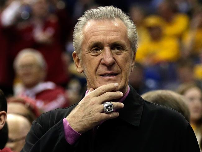 Nba Pat Riley Doesn T Expect Chris Bosh Back In Miami