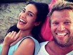 Aussie surfer Taj Burrows shows off new love, model Rebecca Jobson on Instagram. Picture: Instagram