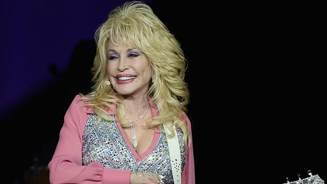 Dolly's new record, Blue Smoke, is her 42nd studio album. Picture: Gett...