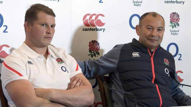 England captain Dylan Hartley - with England head coach Eddie Jones - hope to put Australia to the sword again.
