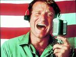 "Robin Williams in 1987 film ""Good Morning Vietnam"". Picture: Supplied"