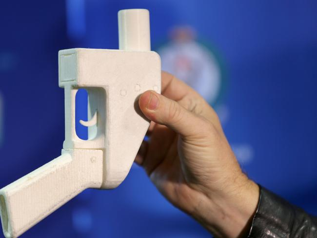 Easy to make ... a 3D gun made off the internet.