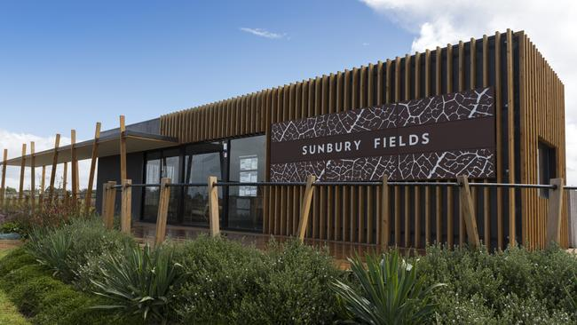 Sunbury Fields estate will have 12 quarter-acre lots when it's completed.