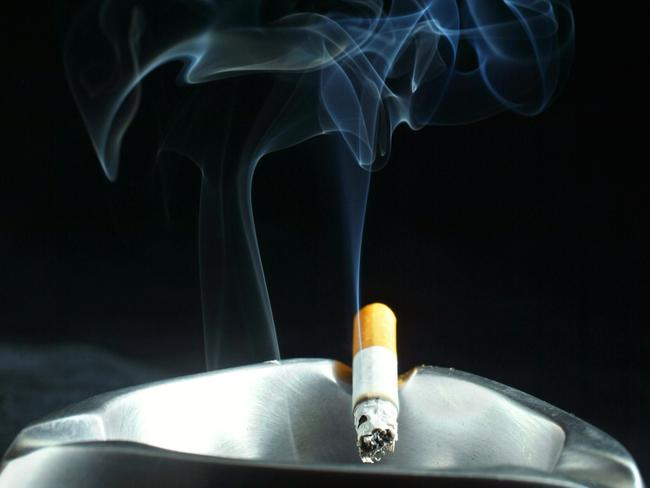 Dr King says the spectre of smoking hangs over people in her industry like a shadow. Picture: AFP