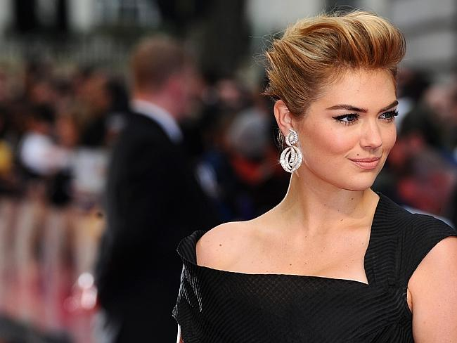 "Figure...Model Kate Upton attends ""The Other Woman"" UK premiere in London. Picture: Getty"