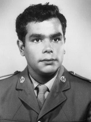 Private Gilbert George (Gil) Green served in Vietnam. Picture: Australian War Memorial