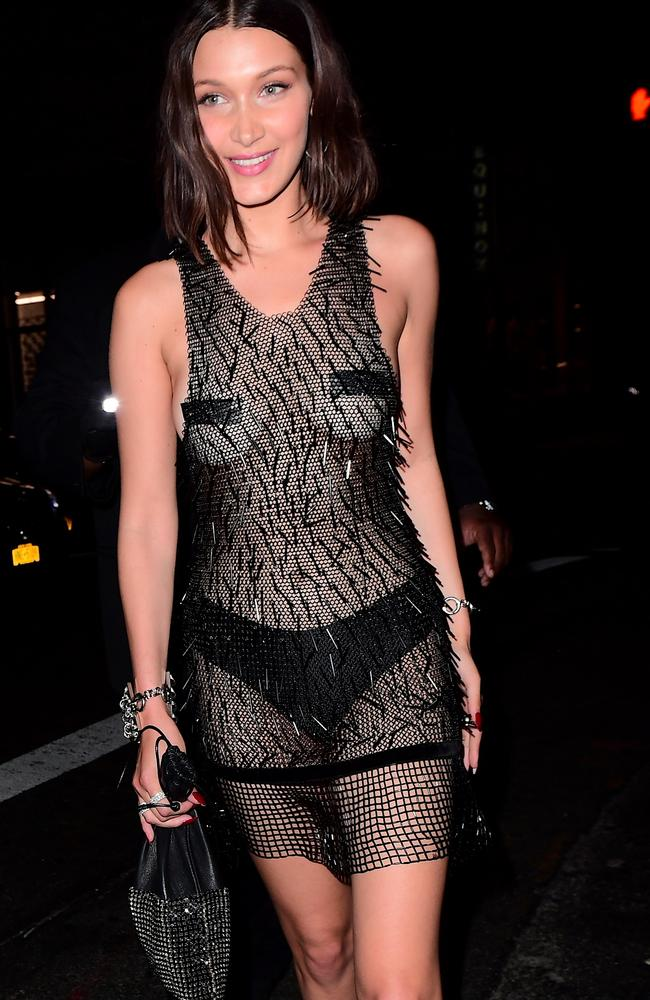 Bella Hadid in see-through dress at Cannes Film Festival 2017: Photos