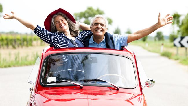 Boom market ... Seniors will account for 13 per cent of all international travel by 2025. Picture: iStock