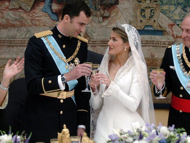 Spanish Crown Prince Felipe of Bourbon and his wife Princess of Asturias Letizia Ortiz will become the new Spanish royal couple.