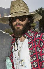 A very beardyJared Leto attend the Interscope Coachella House on April 15, 2017 in Palm Springs, California. Picture: Rich Polk/Getty Images for Interscope)