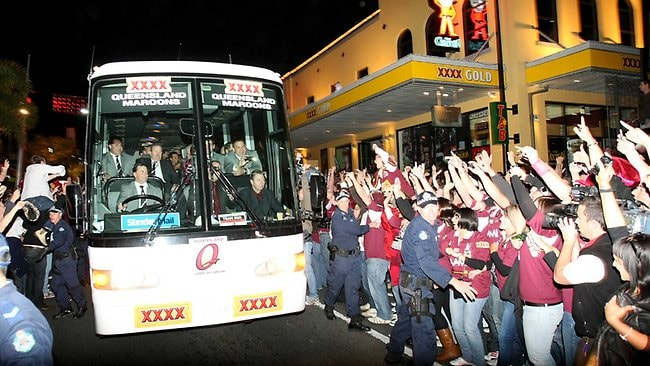 Origin night in Brisbane
