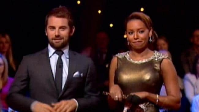 Mel B and Daniel MacPherson, who co-hosted Dancing with the Stars last year together.