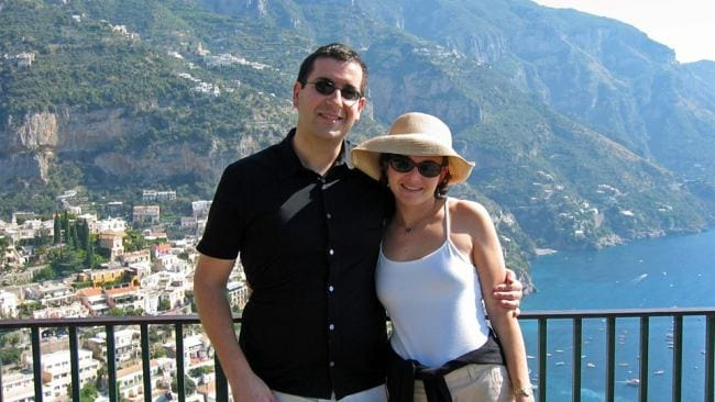 Sheryl Sandberg and David Goldberg. Picture: Facebook