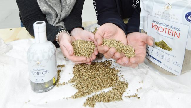 Hemp seeds are said to be a good alternative for those with a nut allergy. Picture: Alan Barber