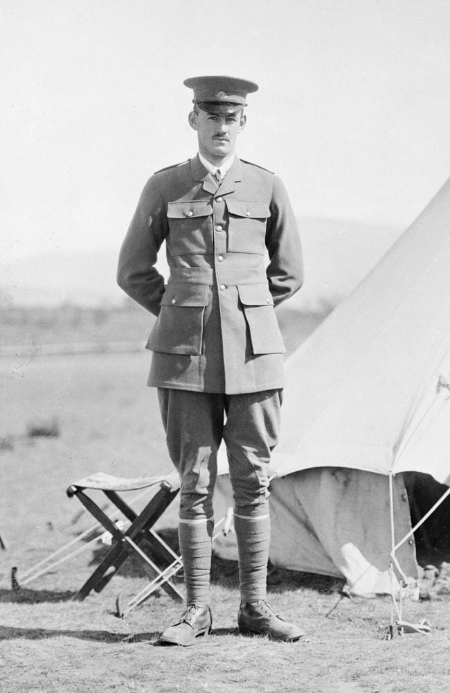 Captain Ivor Margetts was affectionately known as 'Margo' by his friends and school. Picture: Australian War Memorial/H15808