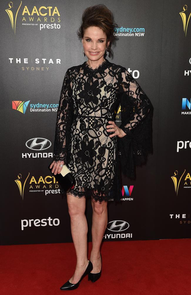 Singrid Thornton arrives ahead of the 5th AACTA Awards Presented by Presto at The Star on December 9, 2015 in Sydney, Australia. Picture: AAP