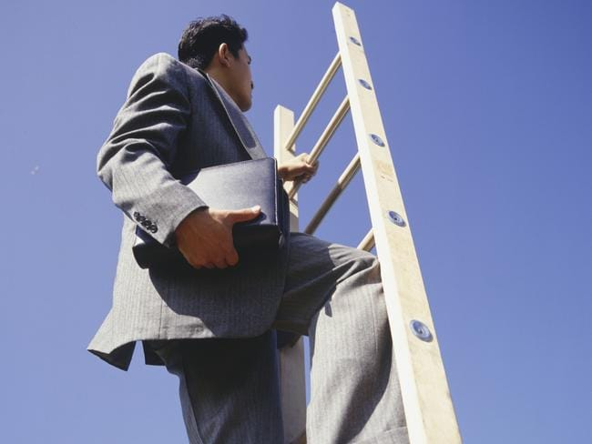 Don't just mindlessly climb that ladder.
