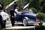 The Great Gatsby are shooting more scenes at the Rozelle Power station site. A Baz Luhrmann film staring Leonardo DiCaprio and Tobey Maguire. Picture: Brad Hunter