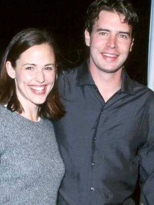 Divorced ... Jennifer Garner and Scott Foley. Picture: Splash