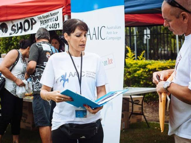 Andrea Simmons is now director of the Australian Anti Ice Campaign. Picture: Andrea Simmons