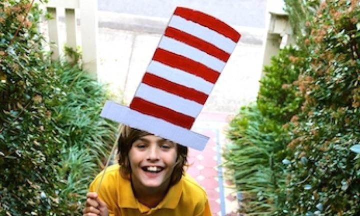 Easy Costume: Cat in the Hat