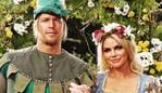 ***UNDER STRICT EMBARGO - DO NOT PUBLISH WITHOUT CONTACTING THE DAILY TELEGRAPH PIC DESK*** ***DAILY TELEGRAPH EXCLUSIVE*** Sophie Monk, the new Bachelorette, pictured here as Maid Marian along with her new co-stars. Picture: Sam Ruttyn