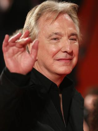 Curtain call ... Alan Rickman has died of cancer aged 69. Picture: Getty