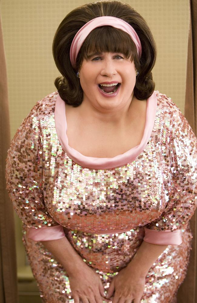 Now who is this ... John Travolta, starring as Edna Turnblad, in the New Line Cinemas musical film, Hairspray. Picture: AP