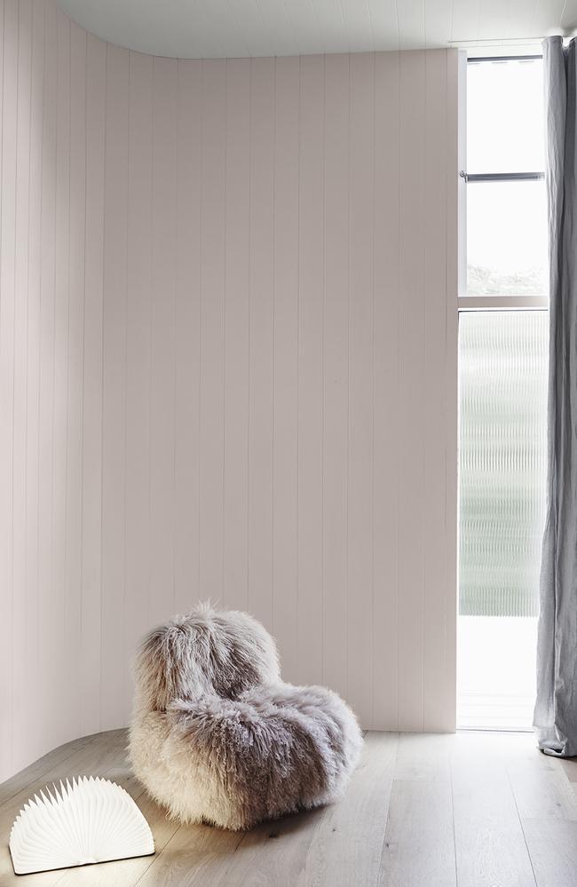 The subtle pink of 'Mornington Half'. Picture: Dulux