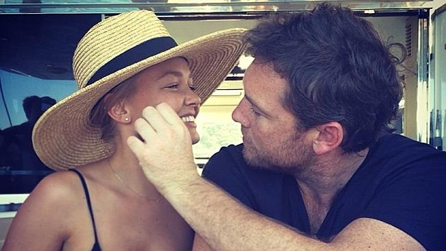 Bingle and Worthington are now dating. Picture: Lara Bingle/Instagram