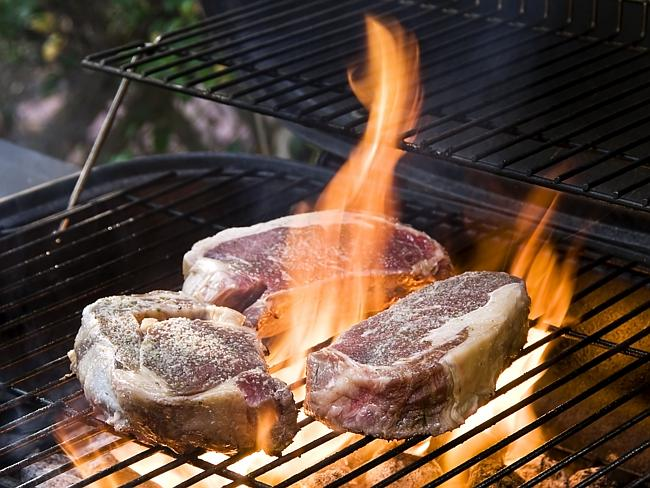 Steaks on the barbie ... a traditional Australia Day meal. Picture: Thinkstock
