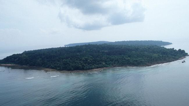 Remote location ... the island of Pulau Tiga is off the west coast of Sabah in Malaysia.