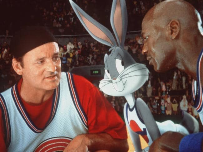 Bill Murray was a joy to watch in  <i>Space Jam.</i>