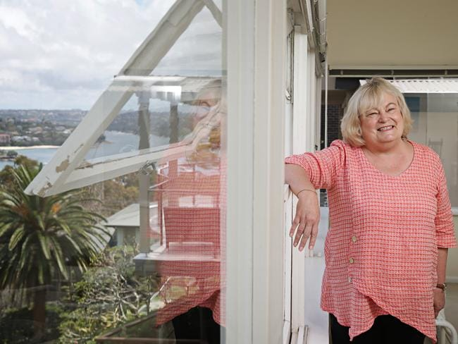 Fiona Hodgson is bidding farewell to her family home