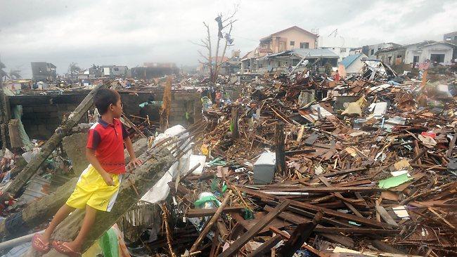 Tacloban Typhoon Philippines