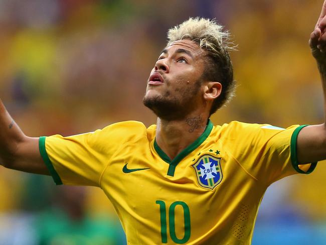 Neymar was awesome for Brazil against Cameroon at the World Cup.