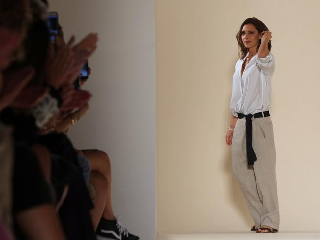 Victoria Beckham has released a budget line for US retailer Target. Picture: AFP
