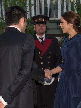 Princess Mary meets MSO musicians. Picture: Matt Irwin Photography