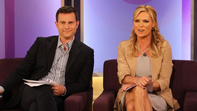 Filling in ... Georgie Gardner will co-host Mornings with David Campbell while Sonia Kruger is on leave.